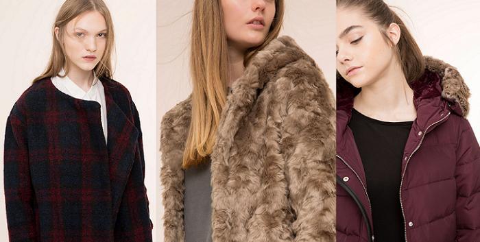 abrigos pull and bear invierno 2016 plumiferos de pelo parkas piel vuelta