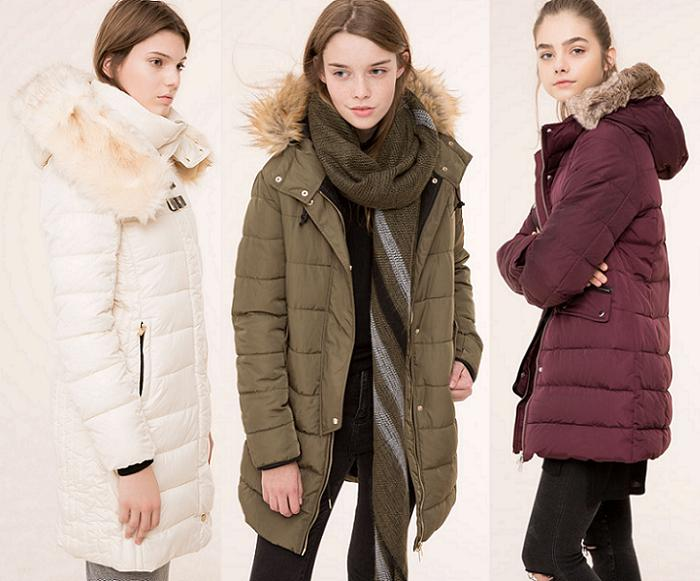 abrigos pull and bear invierno 2016 plumiferos