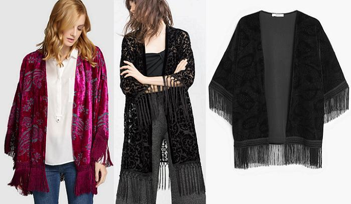 kimonos de fiesta 2016 zara el corte ingles