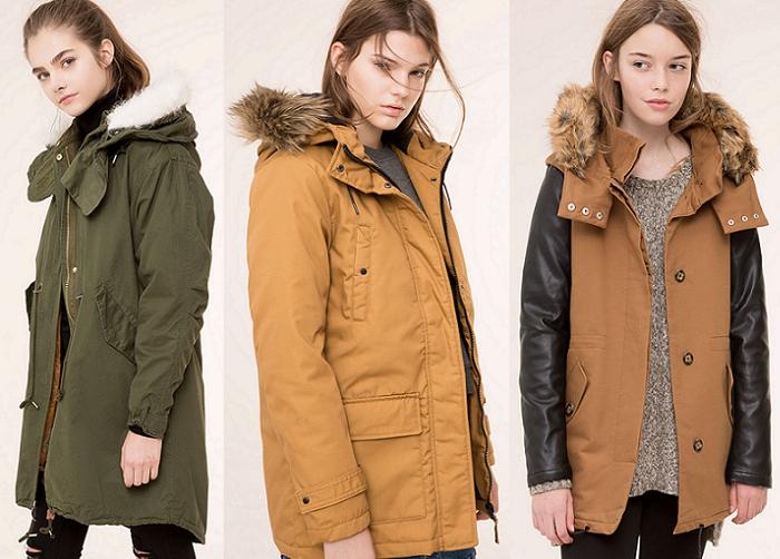 parkas pull and bear 2016