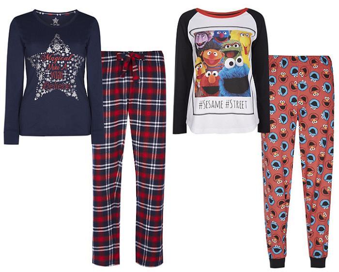 pijamas mujer primark invierno 2016