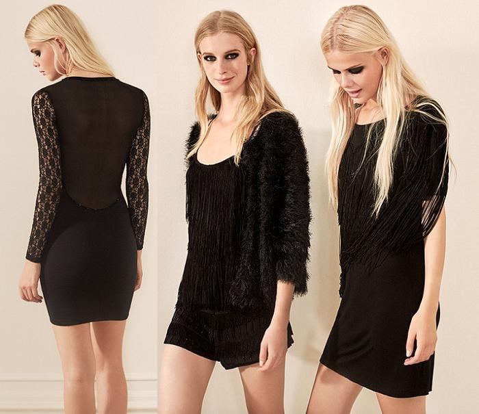 vestidos de fiesta lefties fin de año 2015 2016