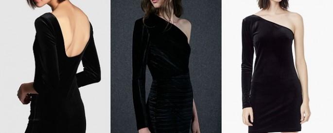 Vestidos de terciopelo 2016