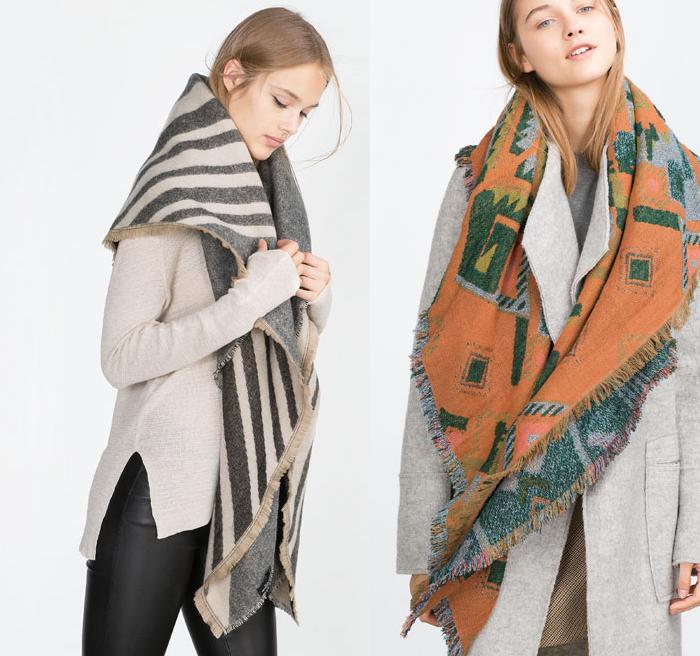 ponchos de lana zara etnicos 2016