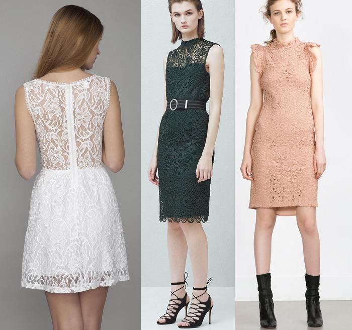 vestidos primavera verano 2016 de encaje