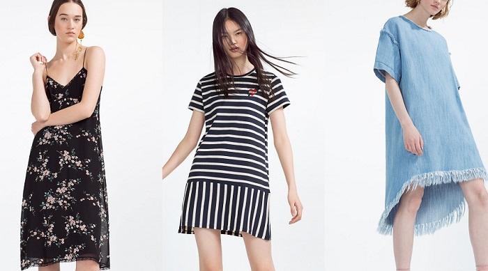 Vestidos Zara primavera 2016