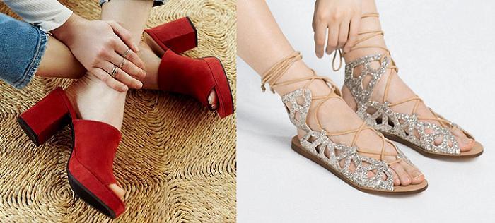 70b4d3db43dfe tendencias en zapatos primavera verano 2016 moda en sandalias cuñas  alpargatas