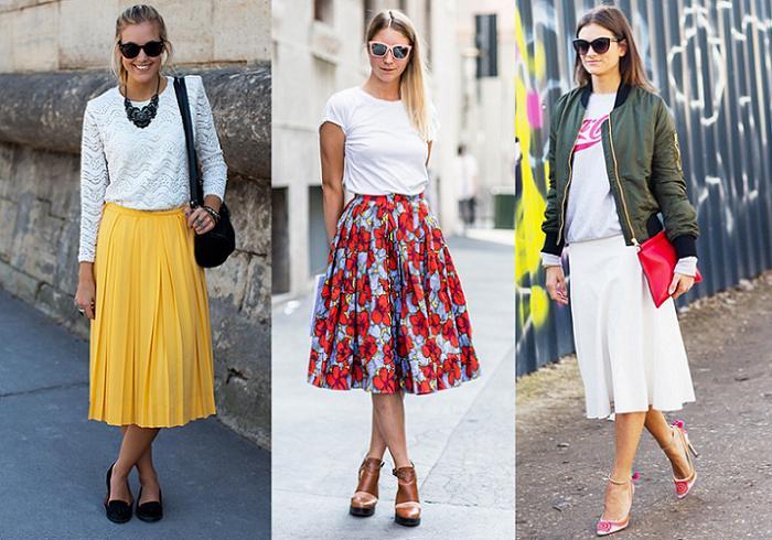 33feb9adc Dónde comprar faldas midi: ¡Ni largas ni cortas! - RobaTendencias