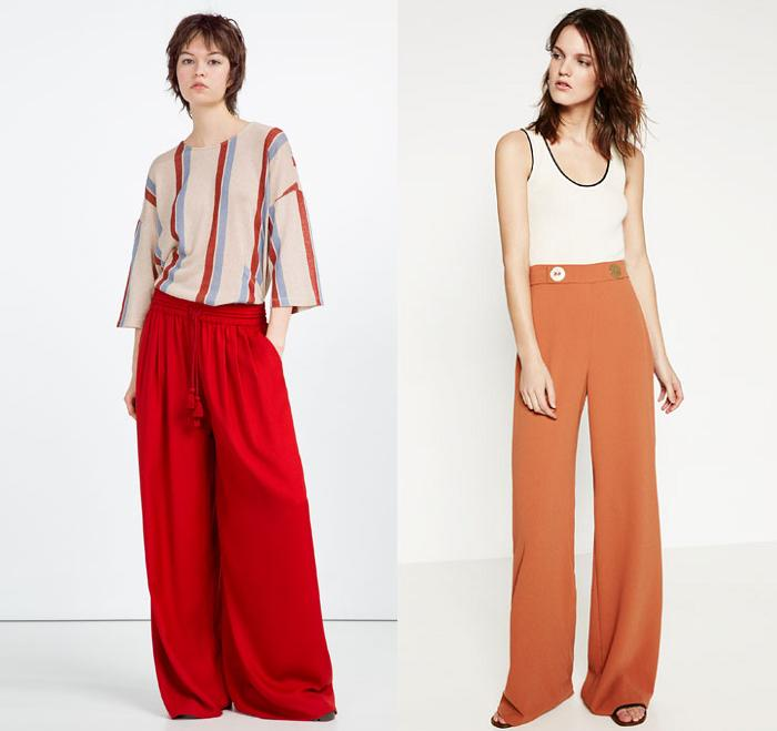 31529ec243 Guía de pantalones palazzo Zara 2016  El ancho de moda - RobaTendencias