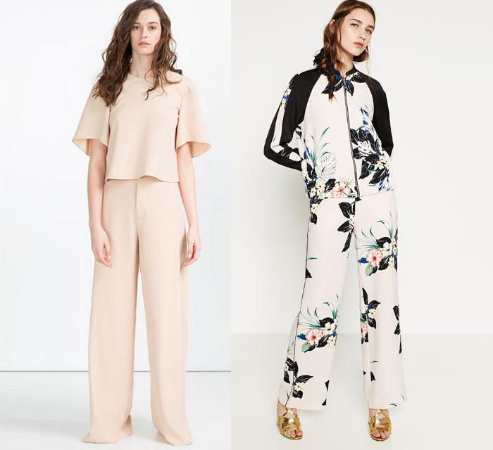 pantalon palazzo zara 2016