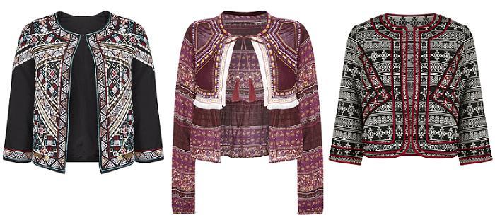 chaquetas etnicas 2016 primark