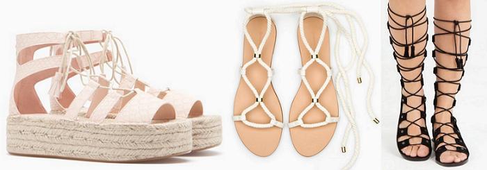 sandalias romanas altas 2016 stradivarius