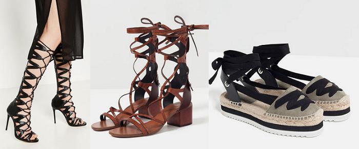 sandalias romana altas 2016 zara