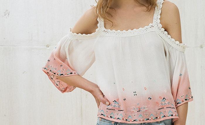 35ab59e56 Blusas boho chic de Zara, Bershka, Sfera… | Pretty & perfect