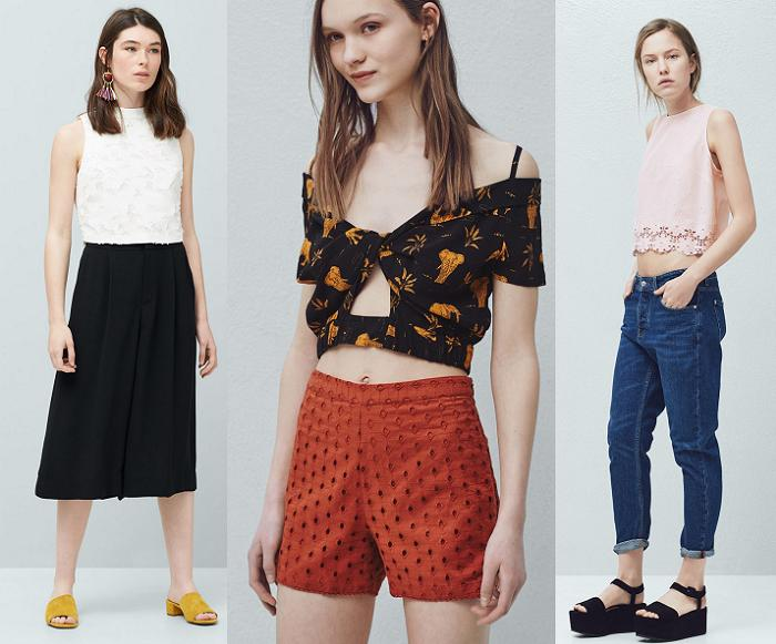 crop tops 2016 mango