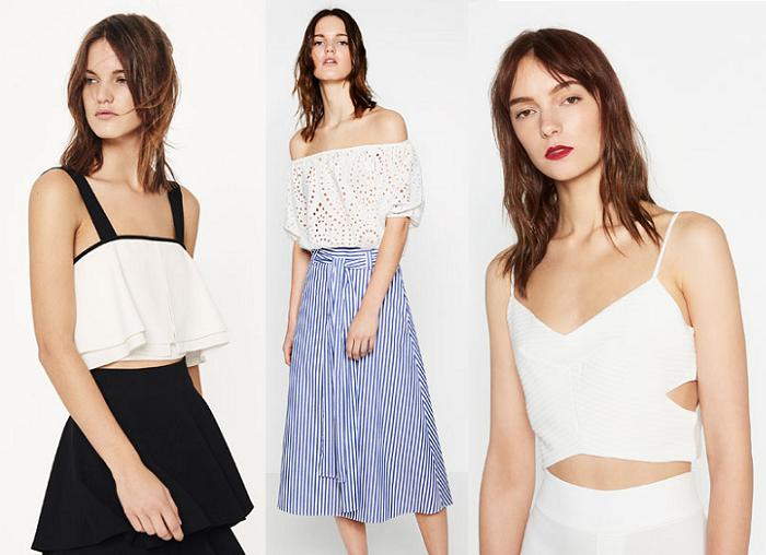 crop tops 2016 zara