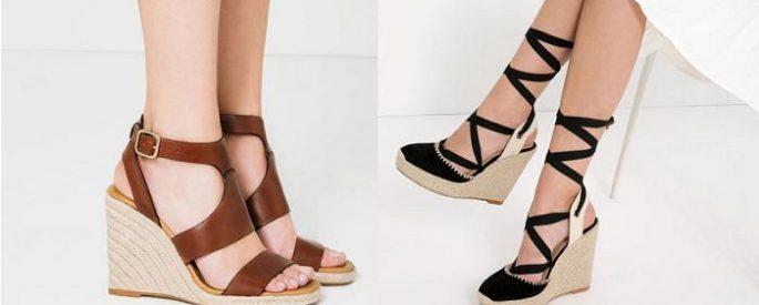 moda sandalias cuña verano 2016