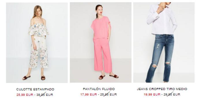 rebajas zara verano 2016 pantalones anchos