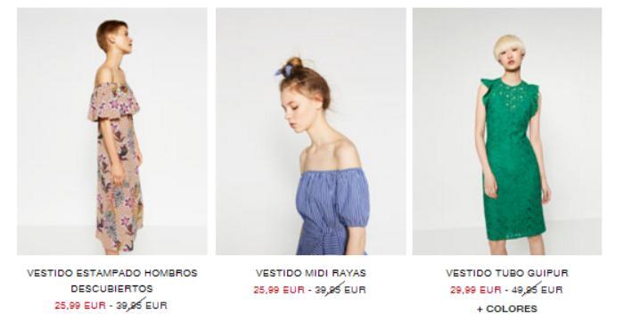 rebajas zara verano 2016 vestidos