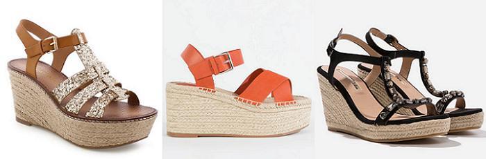 sandalias cuña moda verano 2016