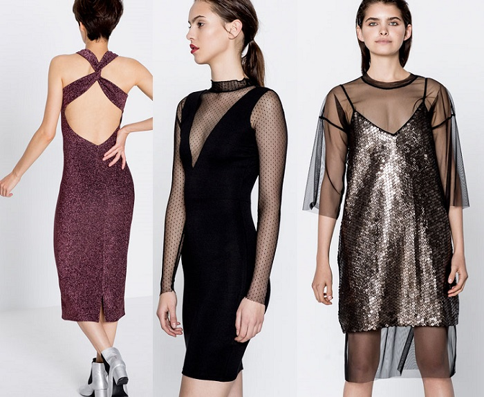 Vestidos para nochevieja pull and bear
