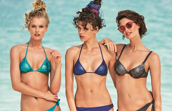 Bikinis metalizados