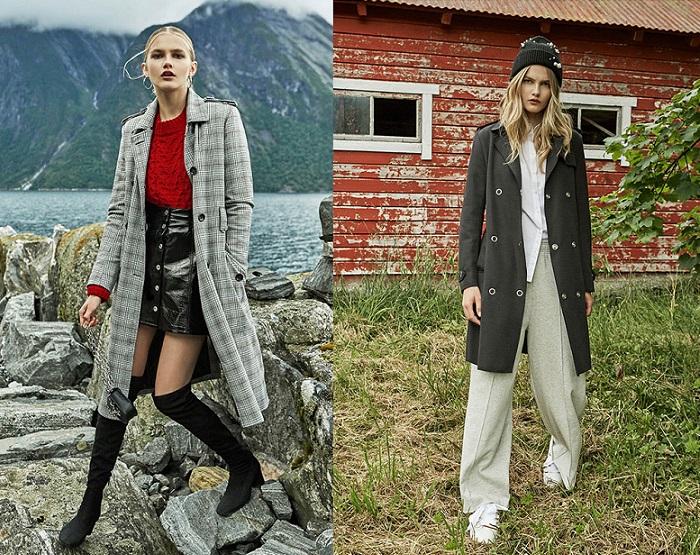 ropa stradivarius otoño invierno 2017 2018 botas altas abrigos