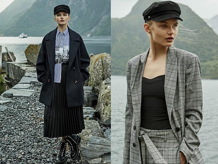 ropa stradivarius otoño invierno 2017 2018 faldas midi